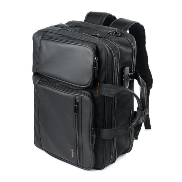 ビジネスバッグ 3way メンズ 大容量 リュック 3WAY バッグ 防水 撥水 ビジネスリュック 軽量 アルファ バック(即納)|sanwadirect|18