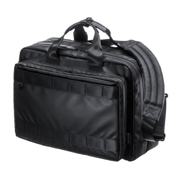 3WAY ビジネスバッグ パソコン メンズ 大容量 リュック 簡易防水 耐水 バック PC対応(即納) sanwadirect 20