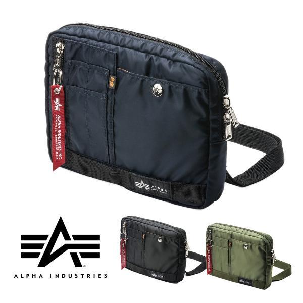 ショルダーバッグ メンズ サコッシュ 斜めがけ 肩掛け バッグ 2WAYバッグ 軽量 薄型 ALPHA アルファ(即納)|sanwadirect|20