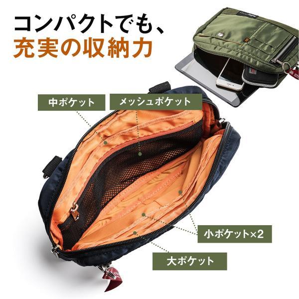 ショルダーバッグ メンズ サコッシュ 斜めがけ 肩掛け バッグ 2WAYバッグ 軽量 薄型 ALPHA アルファ(即納)|sanwadirect|09
