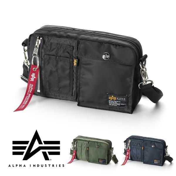 サコッシュ メンズ ショルダー バッグ 2wayバッグ 斜めがけ 肩掛け 軽量 薄型 ALPHA アルファ ショルダーバッグ(即納)|sanwadirect|20