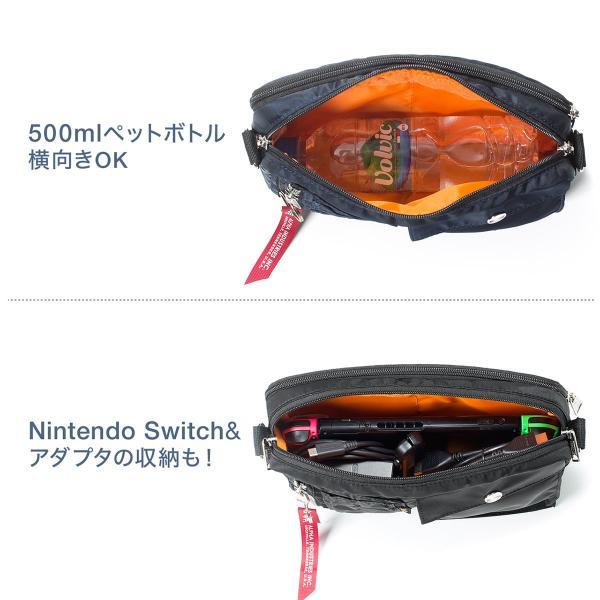 サコッシュ メンズ ショルダー バッグ 2wayバッグ 斜めがけ 肩掛け 軽量 薄型 ALPHA アルファ ショルダーバッグ(即納)|sanwadirect|06