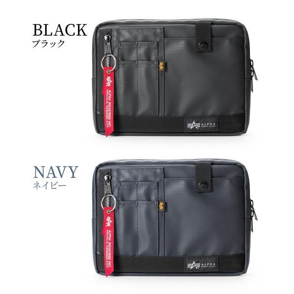 サコッシュ メンズ 2wayバッグ ショルダー バッグ 簡易防水 耐水 斜めがけ 肩掛け 軽量 薄型 ALPHA アルファ ショルダーバッグ(即納)|sanwadirect|12