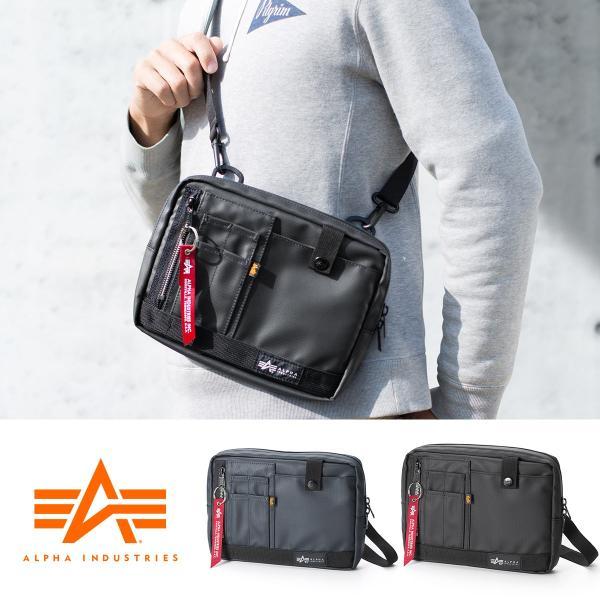 サコッシュ メンズ 2wayバッグ ショルダー バッグ 簡易防水 耐水 斜めがけ 肩掛け 軽量 薄型 ALPHA アルファ ショルダーバッグ(即納)|sanwadirect|21