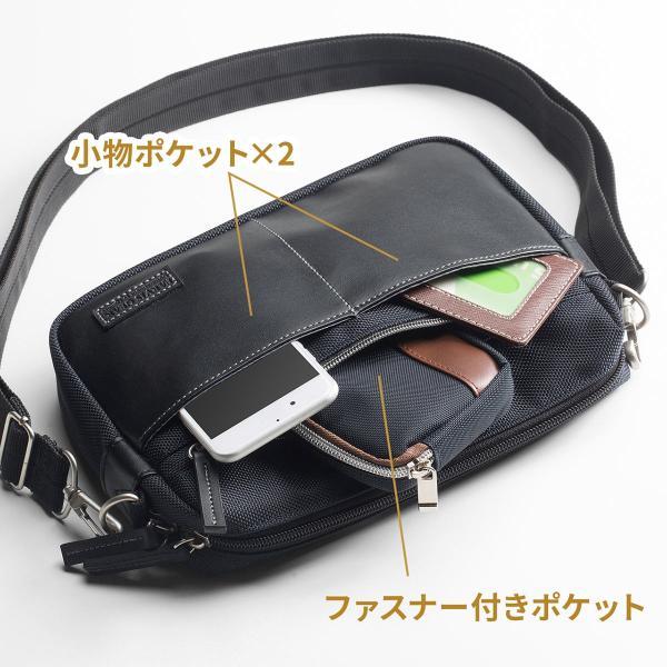 ショルダーバッグ メンズ バッグ 斜めがけ 小さめ カジュアル サコッシュ ショルダーバック(即納)|sanwadirect|09