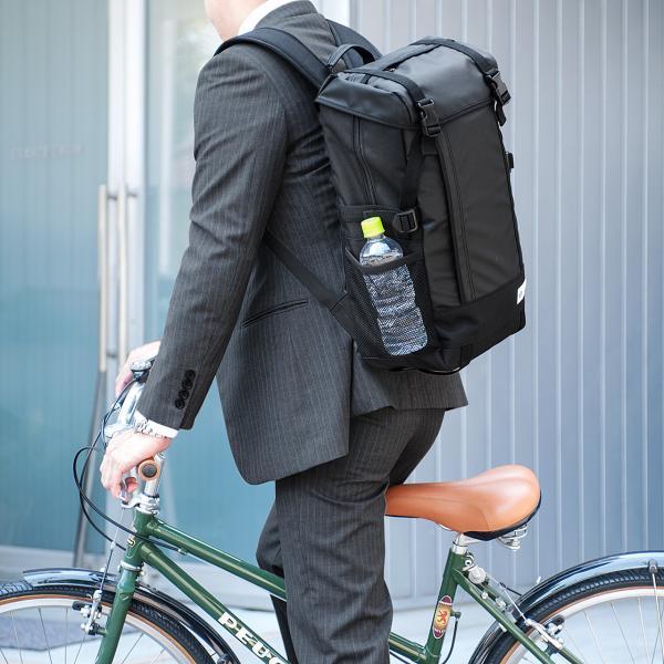 リュック サック スクエアリュック メンズ ALPHA 防水 ビジネス バッグパック アウトドアバックパック バッグ(即納)|sanwadirect|10