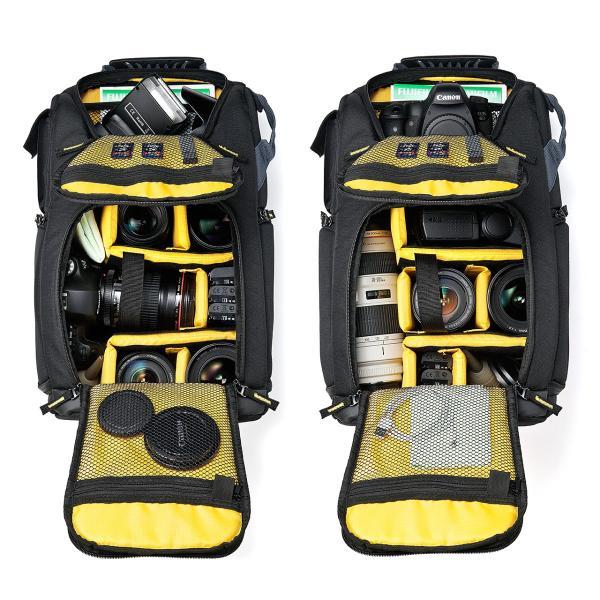 カメラバッグ 一眼レフ カメラリュック 収納 リュック PC対応(即納) sanwadirect 10