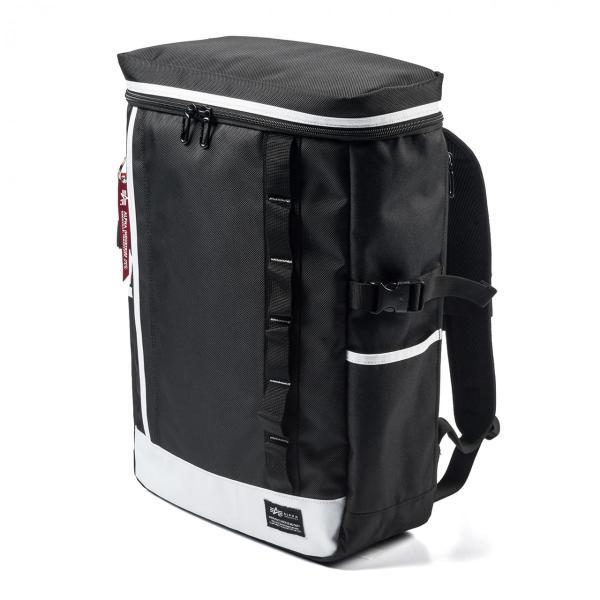 リュック スクエアリュック メンズ リュックサック 大容量 ALPHA アウトドアバックパック バッグ PC対応 sanwadirect 20