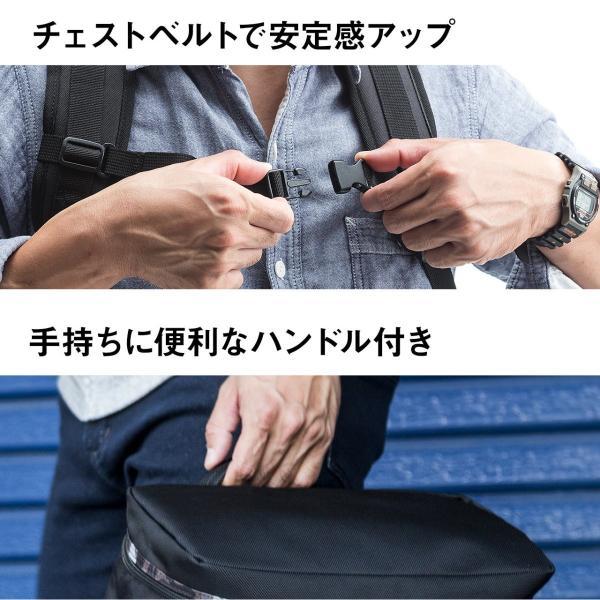 リュック スクエアリュック メンズ リュックサック 大容量 ALPHA アウトドアバックパック バッグ PC対応 sanwadirect 09