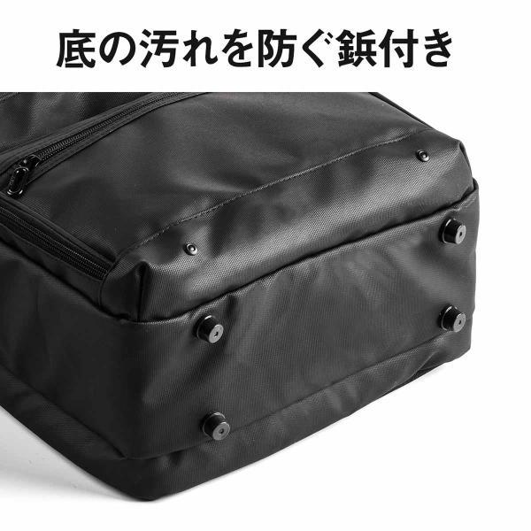 ビジネスリュック リュック リュック サック スクエアリュック メンズ ALPHA 防水 軽量 PC対応(即納)|sanwadirect|12