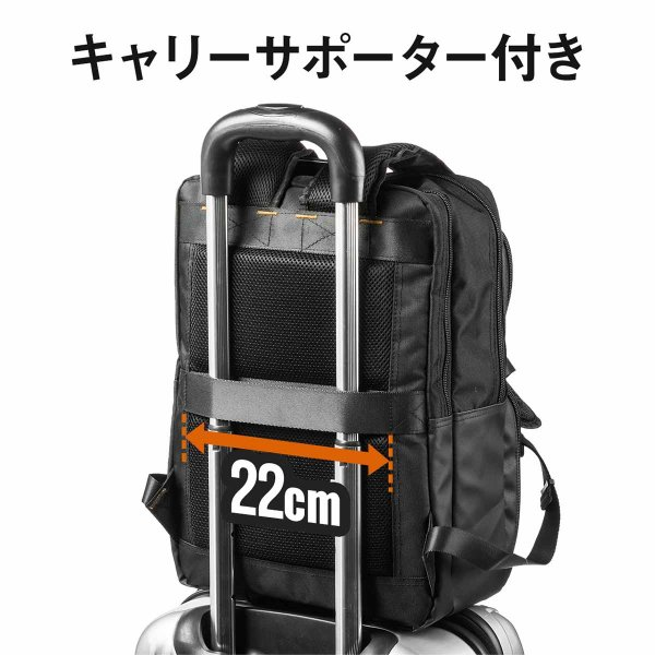 ビジネスリュック リュック リュック サック スクエアリュック メンズ ALPHA 防水 軽量 PC対応(即納)|sanwadirect|13
