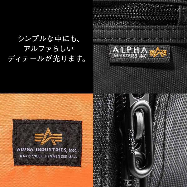ビジネスリュック リュック リュック サック スクエアリュック メンズ ALPHA 防水 軽量 PC対応(即納)|sanwadirect|04