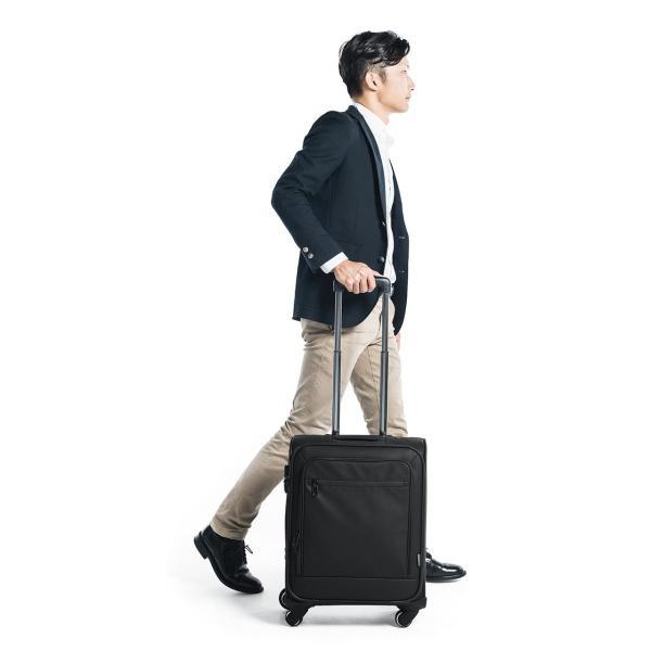 キャリーバッグ 簡易防水 耐水 メンズ パソコンバッグ ビジネス 機内持ち込み スーツケース縦型(即納)|sanwadirect|12