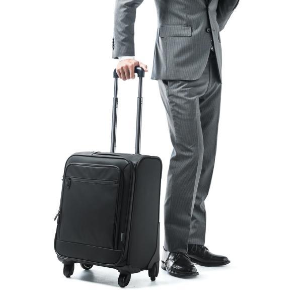 キャリーバッグ 簡易防水 耐水 メンズ パソコンバッグ ビジネス 機内持ち込み スーツケース縦型(即納)|sanwadirect|19
