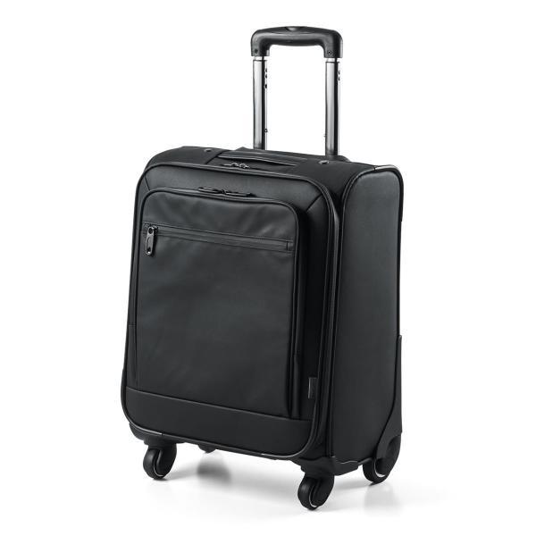 キャリーバッグ 簡易防水 耐水 メンズ パソコンバッグ ビジネス 機内持ち込み スーツケース縦型(即納)|sanwadirect|20