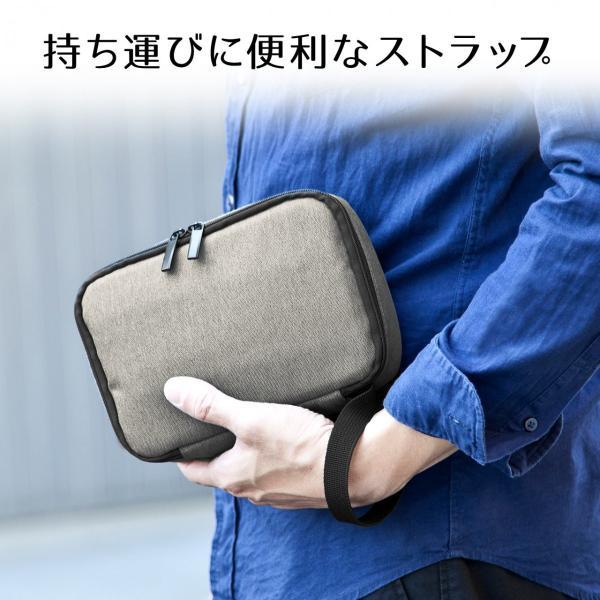 ケース トラベルポーチ ガジェットポーチ ポーチ 収納 旅行 便利グッズ(即納)|sanwadirect|05