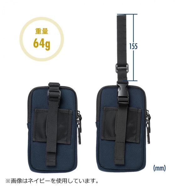 スマホケース スマホポーチ メンズ iPhone ベルト リュック ショルダー 携帯ケース sanwadirect 16