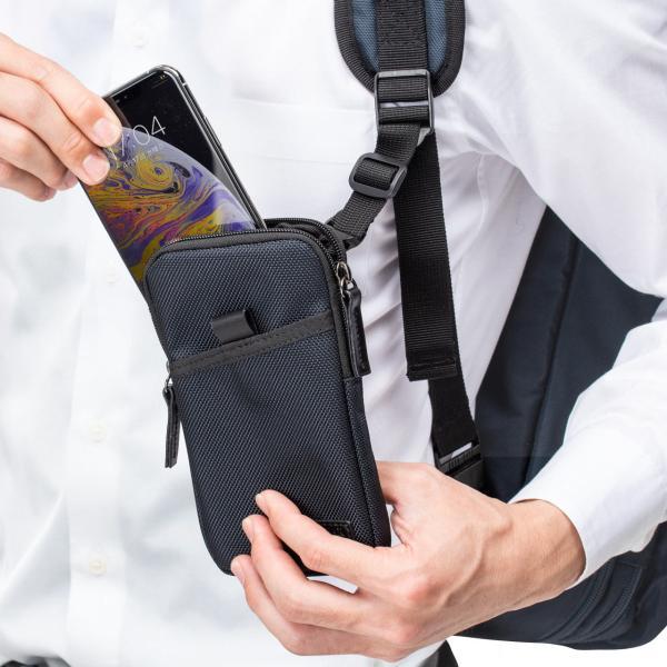 スマホケース スマホポーチ メンズ iPhone ベルト リュック ショルダー 携帯ケース sanwadirect 19