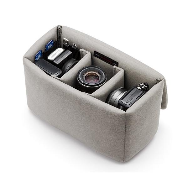 一眼レフ カメラ インナーバッグ カメラバッグ ミラーレス カメラケース|sanwadirect|13
