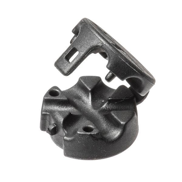 ケーブルホルダー 磁石 マグネットホルダー3個入り 両面テープ貼り付け ケーブル落下防止 ブラック|sanwadirect|13