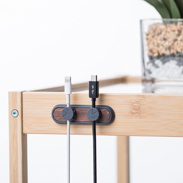 ケーブルホルダー 磁石 マグネットホルダー3個入り マグネットベース 両面テープ貼り付け ケーブル落下防止 フラットケーブル(即納)|sanwadirect|11