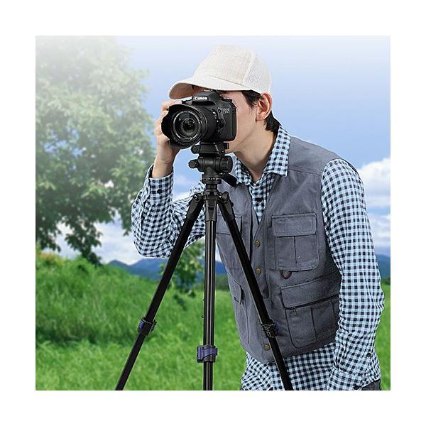 三脚 一眼レフ カメラ ビデオカメラ 150cm 三脚(即納) sanwadirect 19