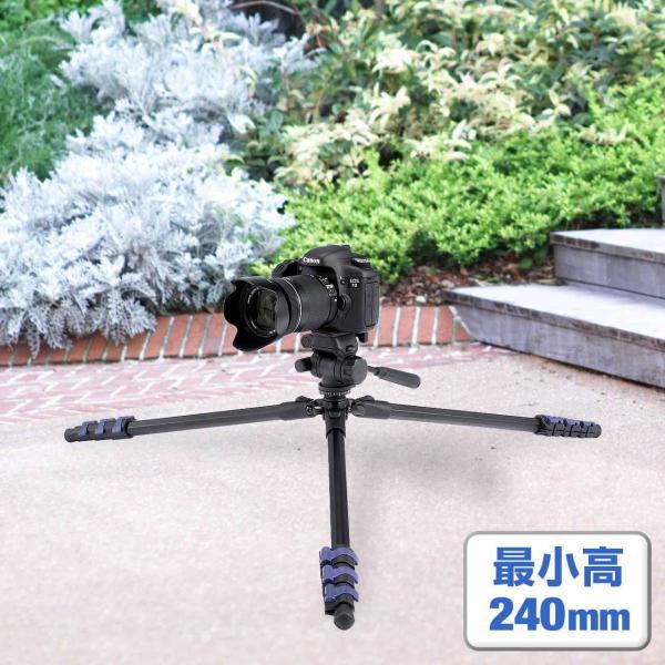 三脚 一眼レフ カメラ ビデオカメラ 150cm 三脚(即納) sanwadirect 07