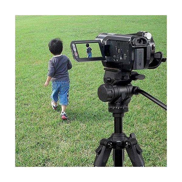 三脚 一眼レフ カメラ ビデオカメラ 150cm 三脚(即納) sanwadirect 10