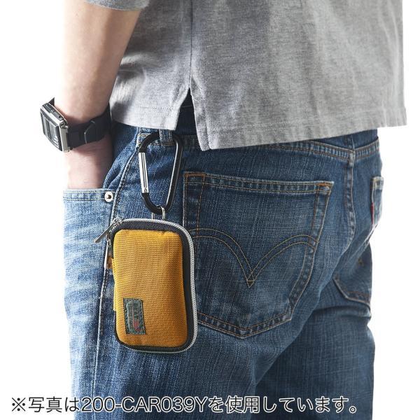 キーケース メンズ キーカバー スマートキー 鍵 収納 インテリジェント 車 カー用品 高耐久 おしゃれ コンパクト|sanwadirect|07