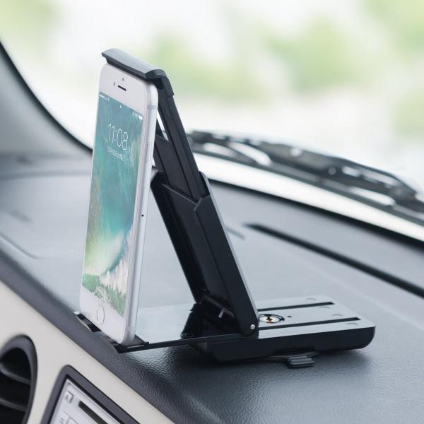 スマホホルダー 車載 スマホスタンド 車載ホルダー iPhone コンパクト 車 車載用品(即納)|sanwadirect|11