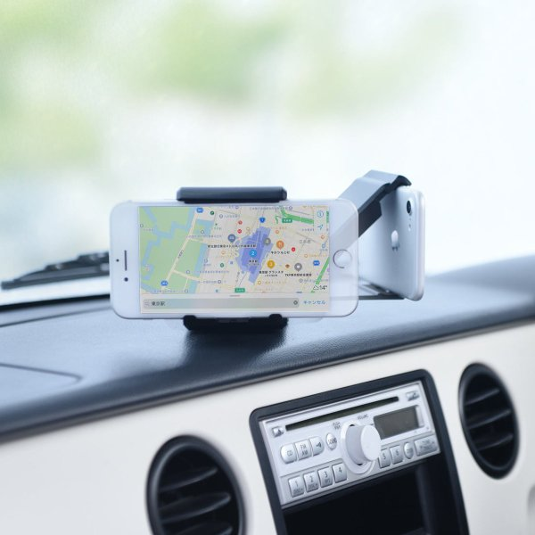 スマホホルダー 車載 スマホスタンド 車載ホルダー iPhone コンパクト 車 車載用品(即納)|sanwadirect|12