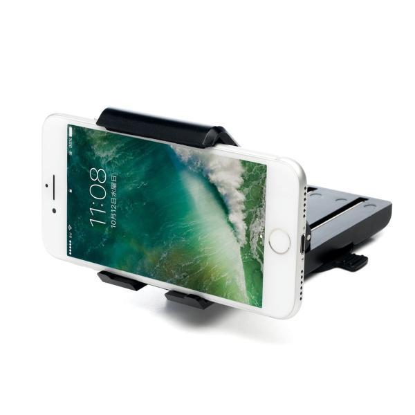スマホホルダー 車載 スマホスタンド 車載ホルダー iPhone コンパクト 車 車載用品(即納)|sanwadirect|20