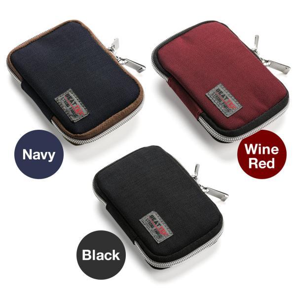 キーケース メンズ キーカバー スマートキー 鍵 収納 インテリジェント キーケース 2個 収納 車 カー用品 高耐久 おしゃれ コンパクト(即納)|sanwadirect|12