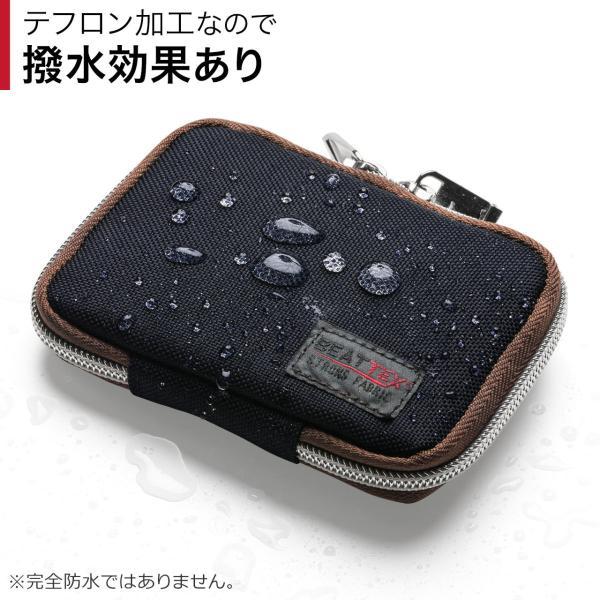 キーケース メンズ キーカバー スマートキー 鍵 収納 インテリジェント キーケース 2個 収納 車 カー用品 高耐久 おしゃれ コンパクト(即納)|sanwadirect|07