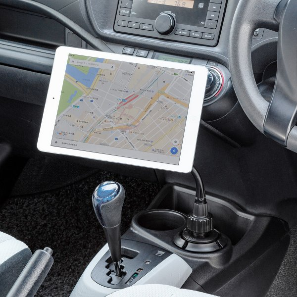 スマホホルダー 車載 マグネット着脱 スマホスタンド 車載ホルダー フレキシブルアーム ドリンクホルダー カップホルダー iPhone 車 車載用品(即納)|sanwadirect|17
