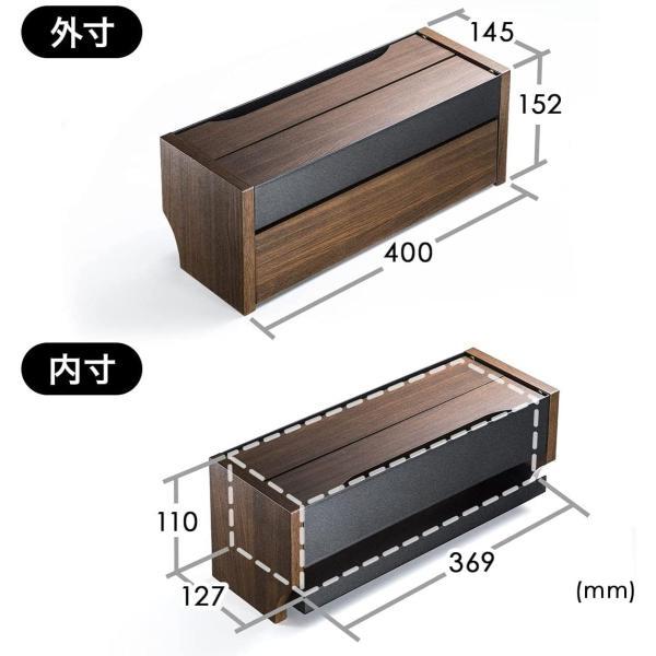 ケーブル 収納 ケーブルボックス コンセント 充電スタンド(即納)|sanwadirect|08