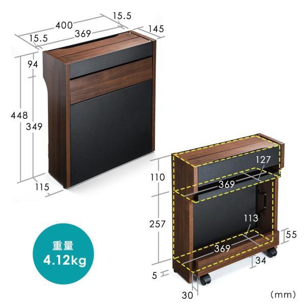 ケーブル 収納 ケーブルボックス ルーター 配線 コンセント コード 隠し 充電ステーション(即納)|sanwadirect|13