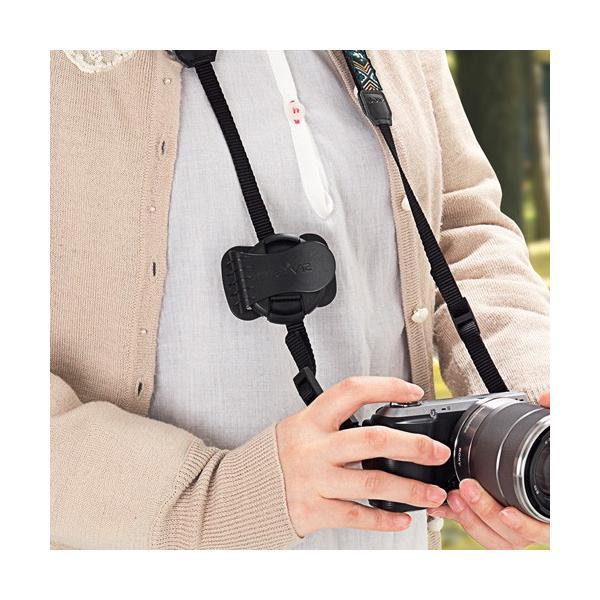 一眼レフ カメラ  レンズキャップ ホルダー 落下防止 紛失防止 クリップ(即納)|sanwadirect|04