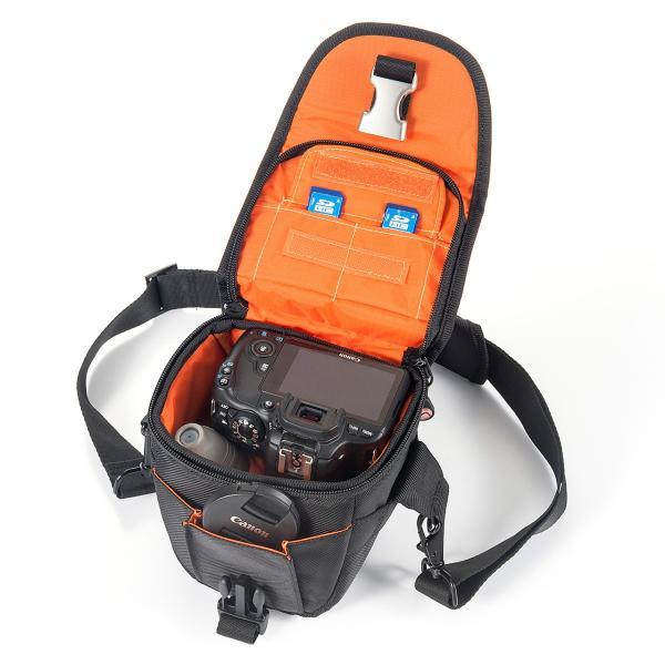カメラバッグ 一眼レフ ショルダー 収納 速写対応(即納)|sanwadirect|10