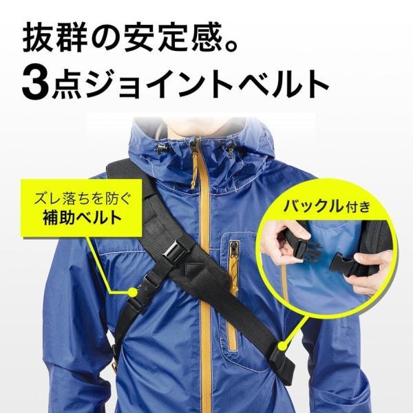 カメラバッグ 一眼レフ ショルダー 速写対応 カメラ スリング バッグ カメラバック(即納)|sanwadirect|11