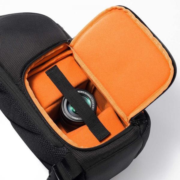 カメラバッグ 一眼レフ ショルダー 速写対応 カメラ スリング バッグ カメラバック(即納)|sanwadirect|15