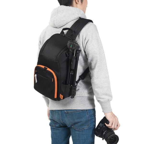 カメラバッグ 一眼レフ ショルダー 速写対応 カメラ スリング バッグ カメラバック(即納)|sanwadirect|19
