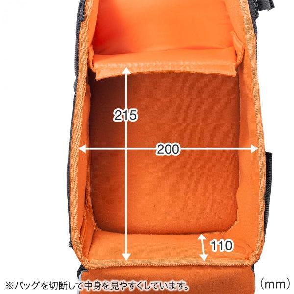 カメラバッグ 一眼レフ ショルダー 速写対応 カメラ スリング バッグ カメラバック(即納)|sanwadirect|04