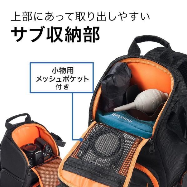 カメラバッグ 一眼レフ ショルダー 速写対応 カメラ スリング バッグ カメラバック(即納)|sanwadirect|06