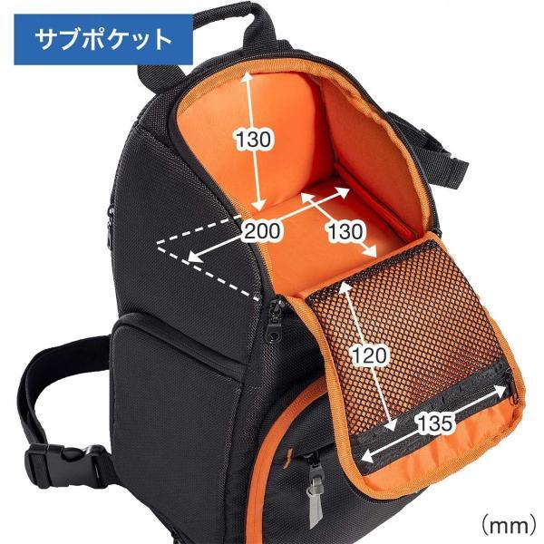 カメラバッグ 一眼レフ ショルダー 速写対応 カメラ スリング バッグ カメラバック(即納)|sanwadirect|07