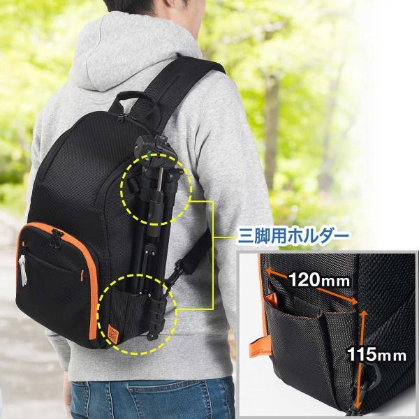 カメラバッグ 一眼レフ ショルダー 速写対応 カメラ スリング バッグ カメラバック(即納)|sanwadirect|09