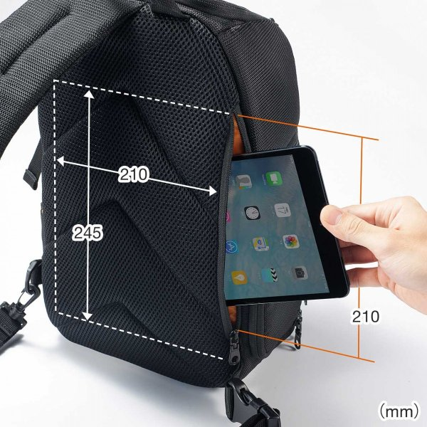 カメラバッグ 一眼レフ ショルダー 速写対応 カメラ スリング バッグ カメラバック(即納)|sanwadirect|10