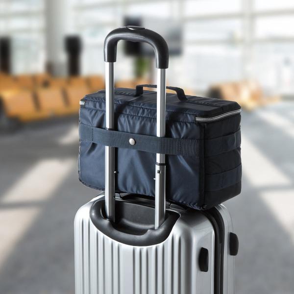 カメラケース 一眼レフ ミラーレス一眼 カメラバッグ インナーボックス バッグ アルファ 保管用 MA-1生地|sanwadirect|12
