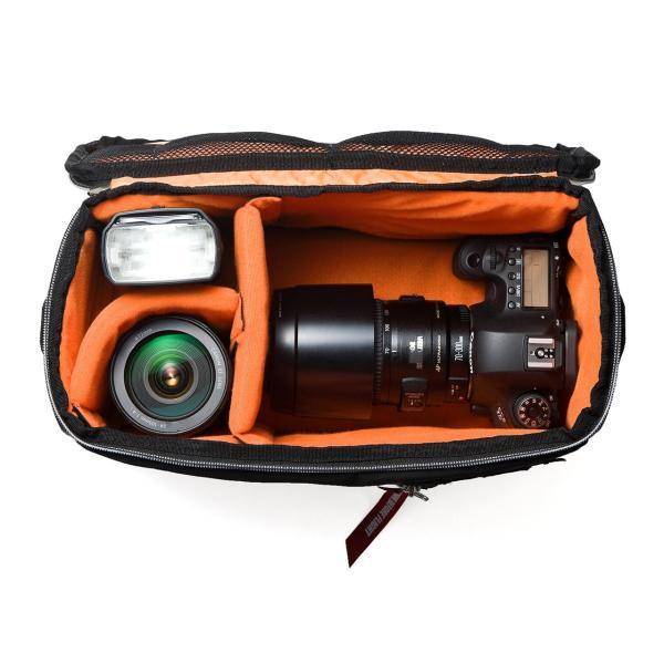カメラケース 一眼レフ ミラーレス一眼 カメラバッグ インナーボックス バッグ アルファ 保管用 MA-1生地|sanwadirect|14