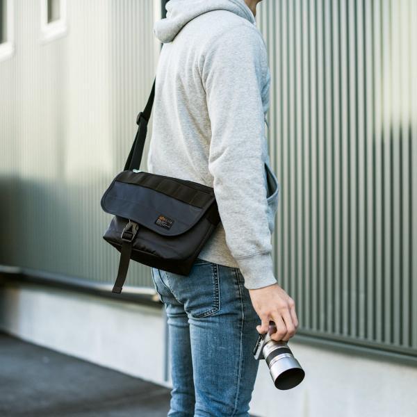 バッグ メンズ メッセンジャー バッグ カメラバッグ 一眼レフ アルファ 斜め掛け 鞄 かばん 肩掛け(即納)|sanwadirect|13